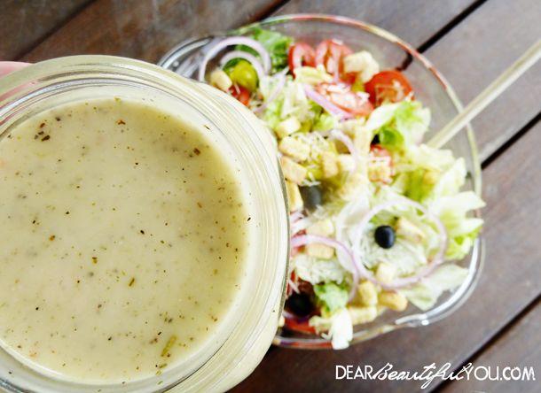 11 best homemade salad dressings images on pinterest buttermilk ranch dressing homemade salad for Olive garden salad dressing recipe secret