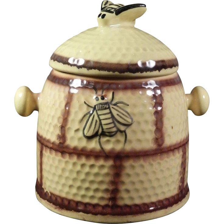 1000 images about old cookie jars on pinterest jars vintage owl and pottery - Beehive cookie jar ...