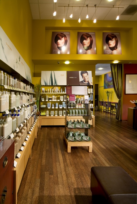 All Aveda, all the time!  We are an Aveda lifestyle salon, which means we love Aveda, and use it exclusively for all services.