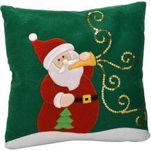 Almofada Santini Christmas Papai Noel Verde