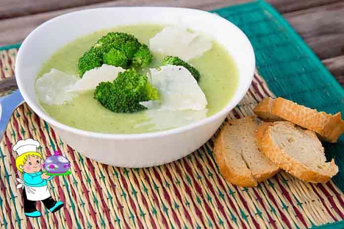 Суп с капустой брокколи прекрасно разнообразит ваше привычное меню... Готовится он очень просто и достаточно быстро, а получается вкусным, сытным и полезным. Брокколи прекрасно сочетается и с рыбой, и с мясом. Но сегодня мы будем готовить суп из брокколи с адыгейским сыром... ИНГРЕДИЕНТЫ  Брокколи-400 г.; Сливочное масло-4 ст. л.; Лук-1 шт.; Молоко-1 л.; Чеснок-4 зубчика; Мука-2 ст. л.; Хлопья чили-по вкусу; Адыгейский сыр (для подачи)-по вкусу; Соль, свежемолотый белый перец-по вкусу…