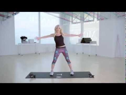 Tracy Anderson Precision Toning Workout Clip
