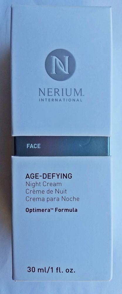 NIB NERIUM International Age Defying Night Cream 1 oz 30 ml 08/2017 #Nerium