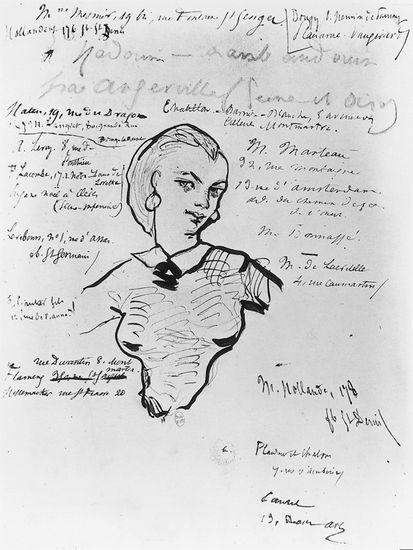 Charles Baudelaire, <i>Jeanne Duval</i>