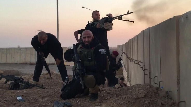 "Abu Azrael; ""The Angle of Death"" is making ISIS dust with his Brigade. He has killed an estimated 1500 ISIS soldiers."