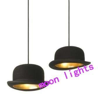 Nuevo y moderno bombín/sombrero de altura de luz de techo colgante de la lámpara de iluminación 1 x luces