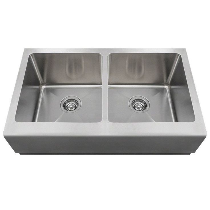 Polaris 33 Double Equal Bowl Stainless Steel
