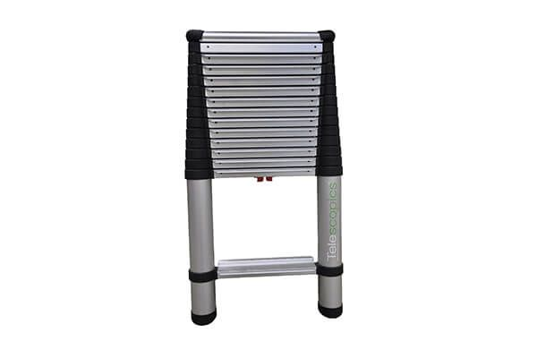 Wide Step Telescoping Extension Ladder