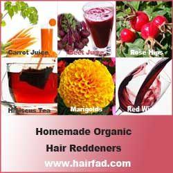 Natural Ways To Redden Hair