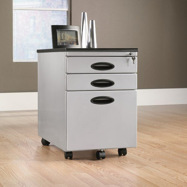 Organize your office cabin or workstation with this sleek and stylish 3 Drawer Mobile Vertical Filing Cabinet. Simply designed to offer utility, this file cabinet is a great option to keep all your important files and folders safe. Compact and space saving, it can be easily accommodated under your desk for easy access of documents. This 3 Drawer Mobile Vertical Filing Cabinet is made from high-quality metal for superior durability and unmatched strength. It is offered in a range of finishes…