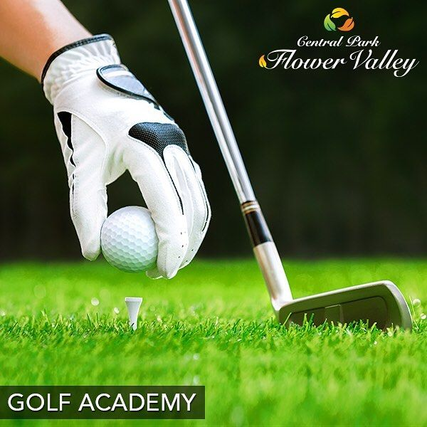 #DidYouKnow Golf helps you improve muscle tone and lose body fat.  You can enjoy all the benefits of Golf at our Golf academy opening shortly at Central Park Flower Valley. #CentralParkFlowerValley