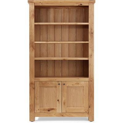 Normandy Solid Oak Display Cabinet | Wayfair UK
