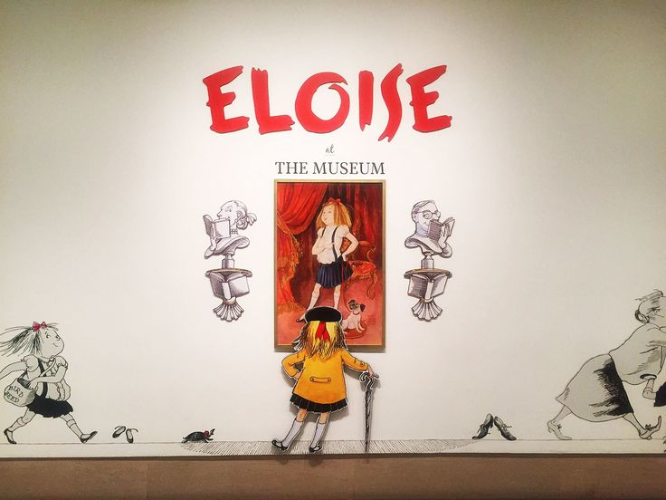 See the Untold Story of Children's Book Star Eloise at this New York Exhibit