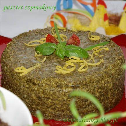 pasztet jaglano- szpinakowy