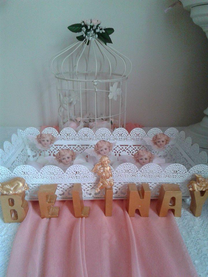 FOTOĞRAFLAR - www.hanieldavetveorganizasyon.com Angel baby shower ideas Melek bebek kutlaması
