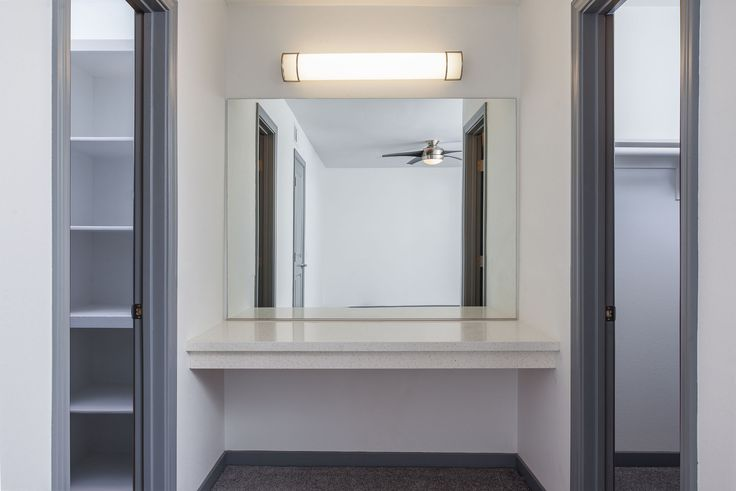 Luxurious closets at Uptown Fullerton  #UptownFullerton #Apartments #Fullerton #AMCLiving #LiveHappy