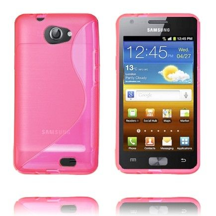 S-Line Transparent (Pink) Samsung Galaxy Z Cover
