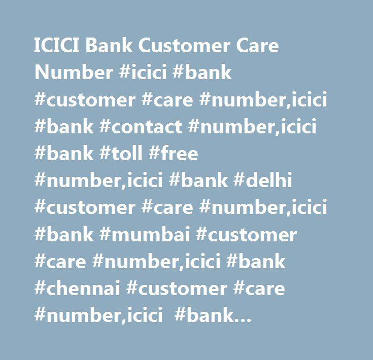 icici bank customer service number mumbai