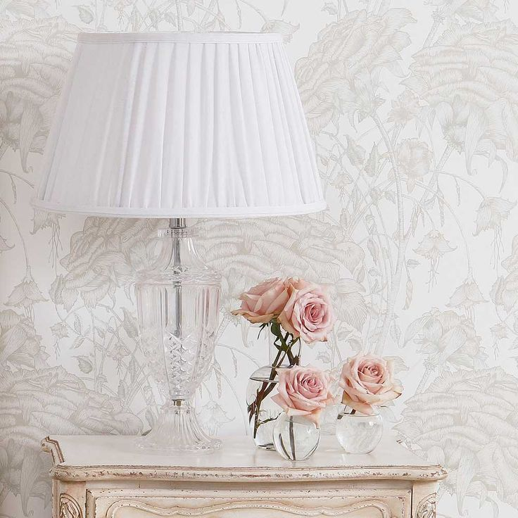 Daphne Glass Table Lamp   French Bedroom Lighting   French Bedroom Glass  Lamp