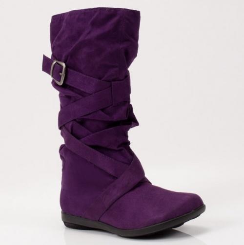 Purple Winter Boots. | clothing | Pinterest