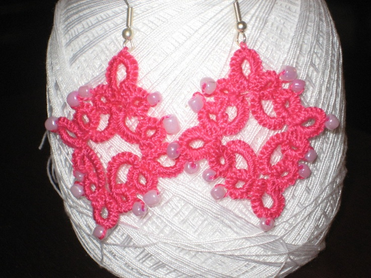 orecchini macramè fatti a mano, by la fata artigiana, 15,00 € su misshobby.com