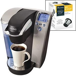 Keurig Platinum B70 Gourmet Single Cup Coffee & Tea Brewing System USD 159.99 http://www.costco.com ...
