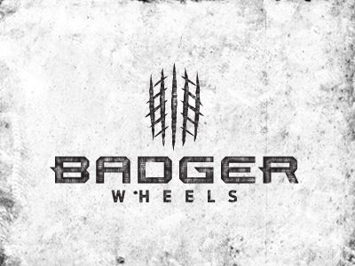 This is a possible logo for a great new company. I hope you guys can see it, but the concept for the logo is centered around the idea of tire tread and a badger claw. Let me know what you think!