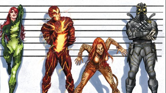 It's been recently announced that DC Comics will be relaunching a few titles as well as launching many new ones this summer. As part of the shake up, the Suicide Squad will consist of Parasite, Black Hand, Poison Ivy, Reverse-Flash, Cheetah, and Talon....