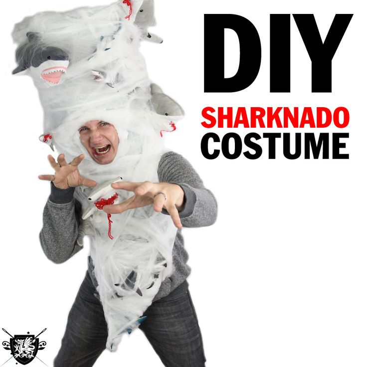 Rob made a Sharknado costume and is confident he is going to win ALL OF THE COSTUME CONTESTS. What do you think? Click the picture or THIS link to watch the video and learn how to make your own.