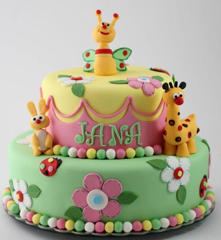 Babytv cake by BioLed