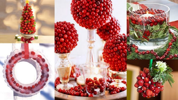 decorating with berries