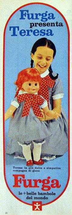 Teresa Furga pubblicità 1968