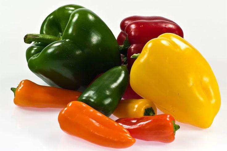 Everything Here: super food της ημέρας : πιπεριά /  Super food of t...
