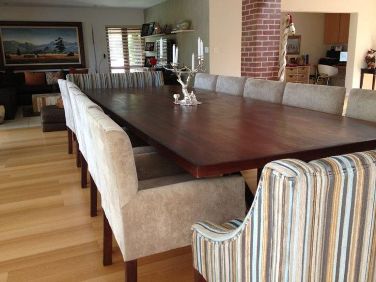 A Happy Client With Custom Dining Room Suite