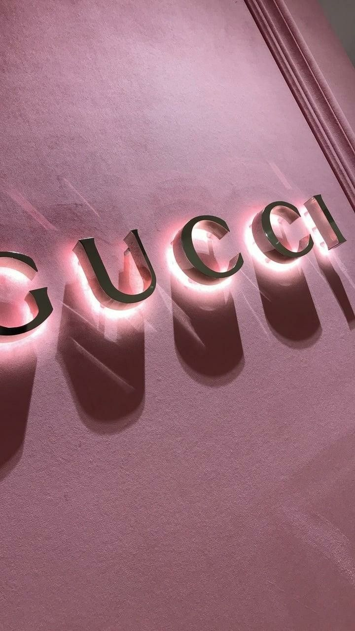 Neatly stacked, flying around, spread around and many. Gucci gang   Pastel pink aesthetic, Pink wallpaper iphone ...