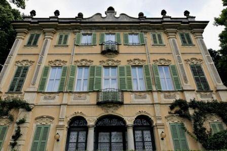 La bellissima Villa Tatti-Tallachini di Comerio