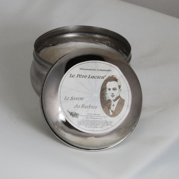 Le Pere Lucien Le Savon du Barbier - Shaving Soap 200g Tin - $35.00 :