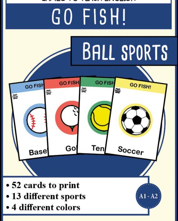 GF - Sports with a ball | Mondolinguo - Français