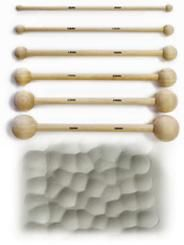 Pottery Tools: Texturing Wood Rollers, Hammers and Combs