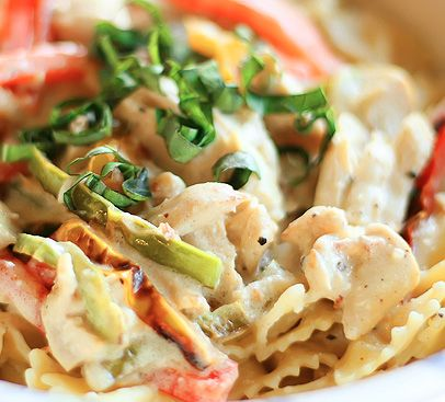 This fresh, colorful pasta dish is perfect for summer. Read more on the fresh ingredients and simple steps!