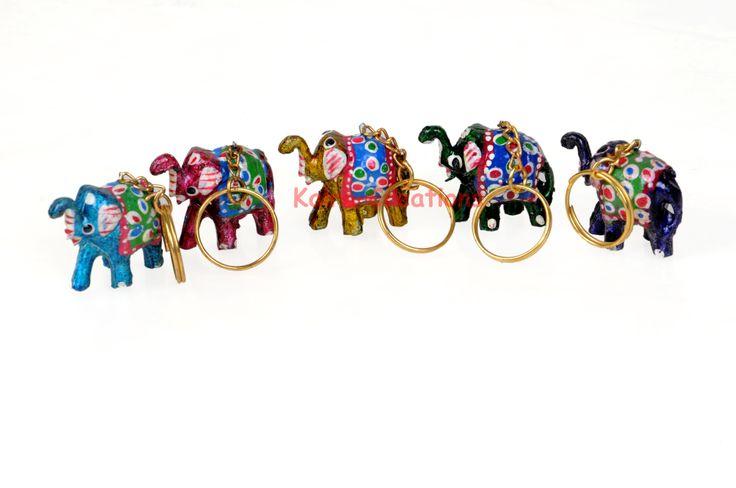 #Rajasthni Lakh #Handicraft Work #Multicolored #Elephant Key #Rings #Key #Chains <===== Click Here : http://kalracreations.com/handicraft/lac-gift-items/key-chains/12-pcs-rajasthni-lakh-handicraft-work-multicolored-elephant-key-rings-key-chains.html for More Detail :======>