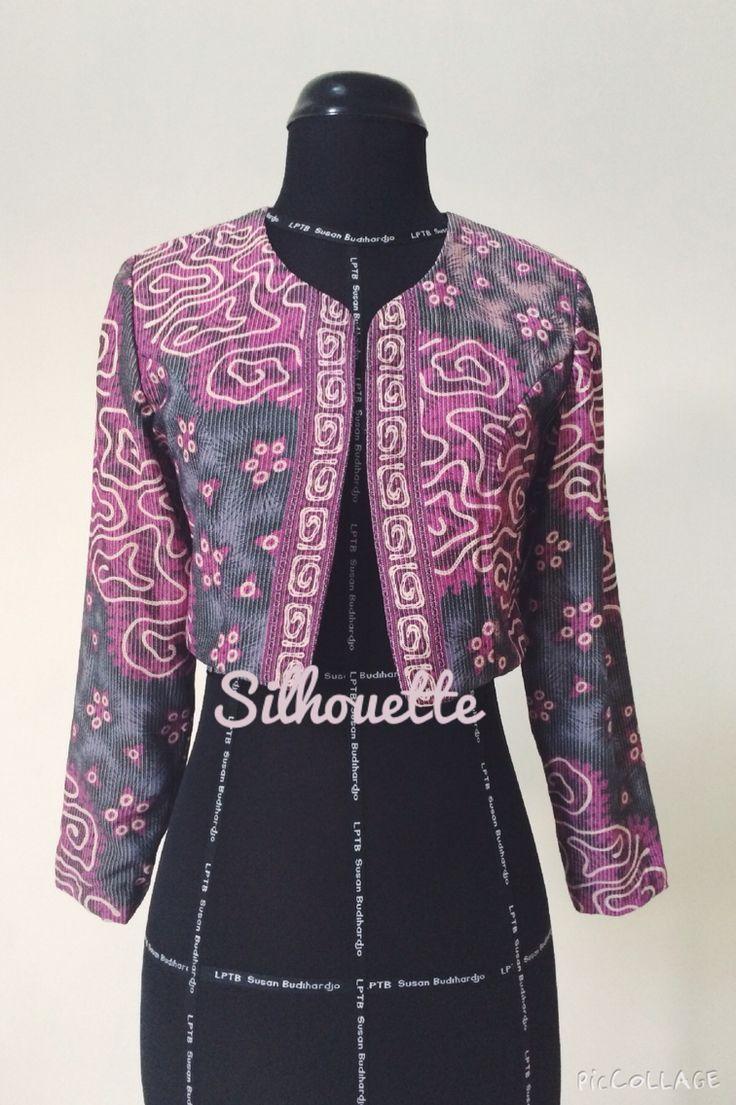Batik outerwear by silhouette