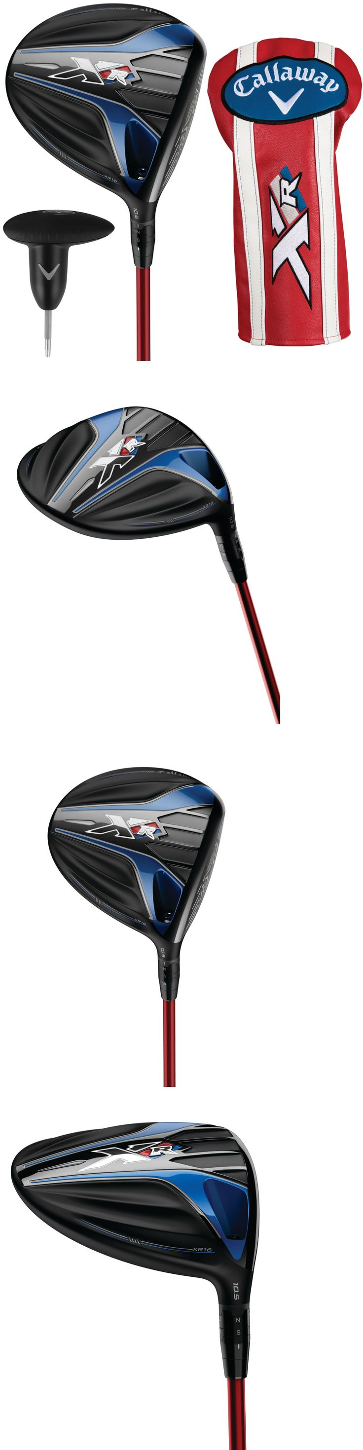 Golf Clubs 115280: New 2016 Callaway Xr 16 Driver - Pick Your Flex And Loft - Left Or Right Handed BUY IT NOW ONLY: $259.95