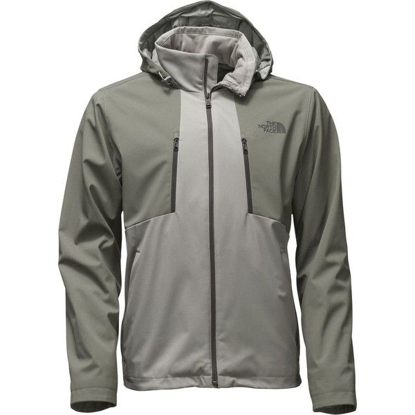 The North Face Apex Elevation Softshell Jacket (225,175 KRW) ❤ liked on Polyvore featuring men's fashion, men's clothing, men's activewear, men's activewear jackets and mens activewear