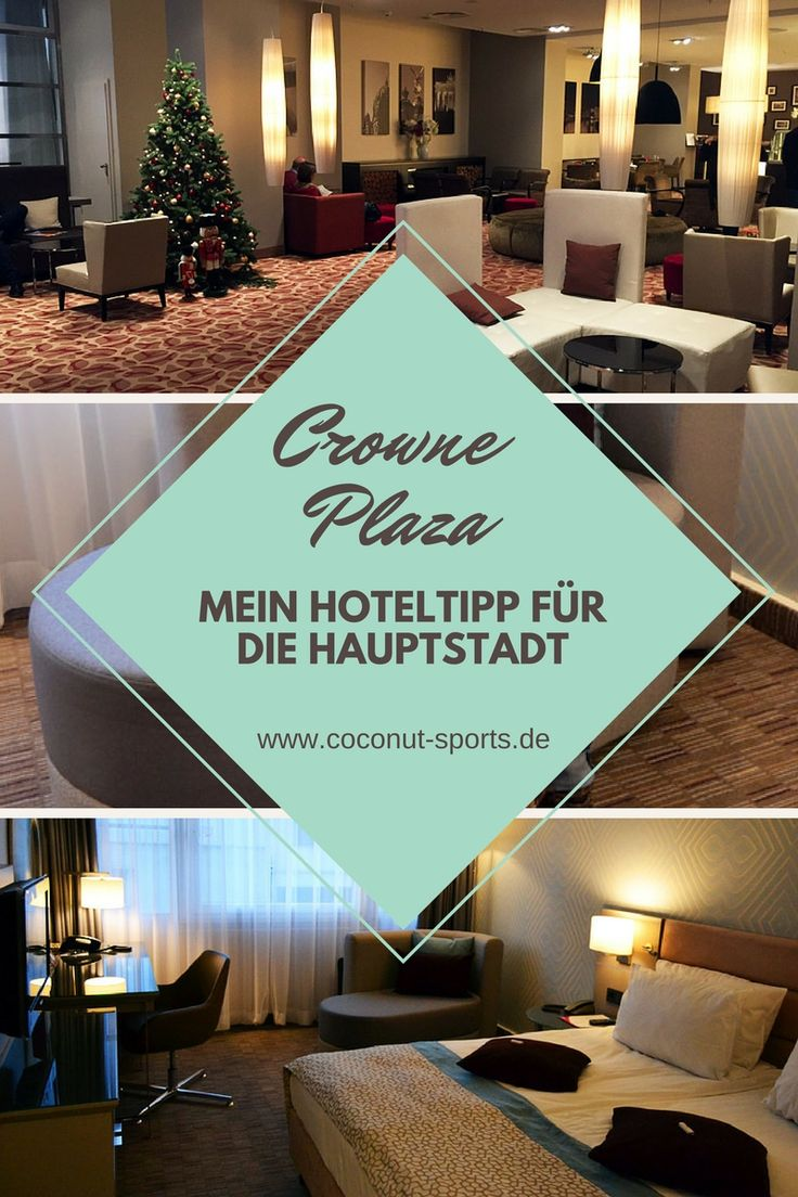 Und wieder ein Hoteltest: Wir haben drei Tage im Crowne Plaza Berlin City Center verbracht. Wie uns das Hotel gefallen hat, lest ihr im Erfahrungsbericht.