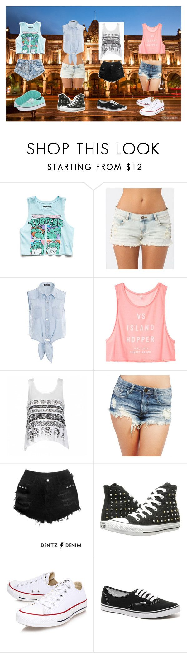 """Outfits for the trip to Guadalajara"" by heaven-cedeno ❤ liked on Polyvore featuring Forever 21, Billabong, Victoria's Secret, Ally Fashion, Wet Seal, Converse and Vans"