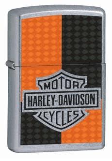 Harley Davidson Deco Street Zippo