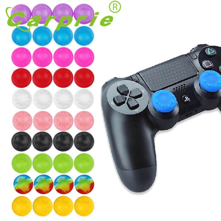Silicone Gel Thumb Stick Cover For Sony PS4 3 XBOX One 360 Controller