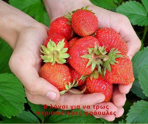8 λόγοι για να τρως περισσότερες φράουλες- Body & Mind