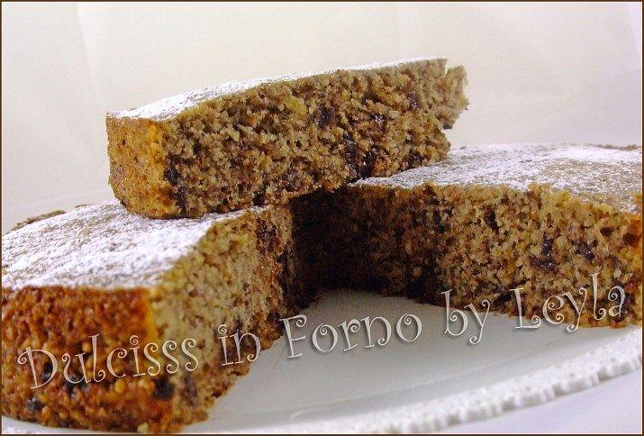 torta alle nocciole e cioccolato, ricetta vegana e ricetta light farina integrale ricetta senza derivati animali ricetta senza uova ricetta ...